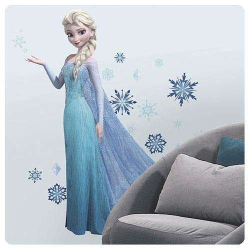 Frozen Elsa - Peel and Stick Giant Wall Decal